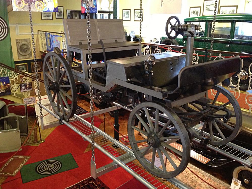 2. Siegfried Marcus Wagen 1875